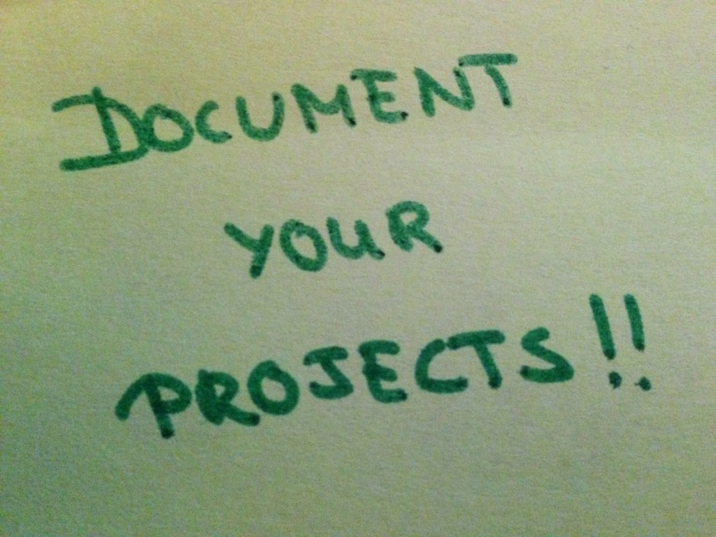 document_your_projects