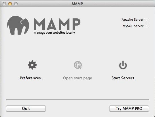MAMP start