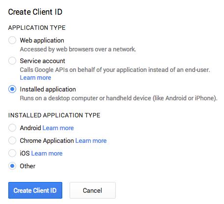 Use the Google Analytics API with Python | Marina Mele's site
